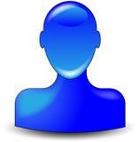 Vriendschappelijk pictogram Stock Foto's