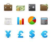 Vriendschappelijk pictogram set2 Royalty-vrije Stock Foto's