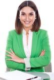 Vriendschappelijk uitvoerend secretaris Stock Foto