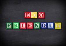 Vriendschappelijke Eco Stock Afbeelding