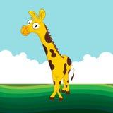 Vriendschappelijke Giraf Royalty-vrije Stock Foto
