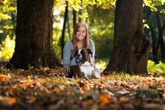 Vriendschappelijke Hond Royalty-vrije Stock Foto