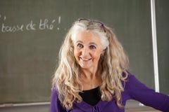 Vriendschappelijke leraar Stock Foto's