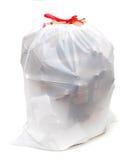 Vriendschappelijke recyclingszak Royalty-vrije Stock Fotografie