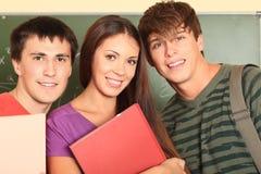 Vriendschappelijke studenten stock fotografie