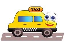 Vriendschappelijke taxi Stock Foto