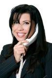 Vriendschappelijke telefoonmanier stock fotografie