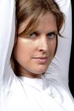 Vriendschappelijke vrouw royalty-vrije stock foto's