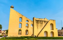 Vrihat Samrat Yantra, The World`s Largest Sundial At Jantar Mantar In Jaipur, India Stock Image