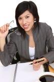 Vrij Aziatische BedrijfsVrouw stock afbeeldingen