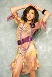 Vrij Aziatische vrouw Stock Foto