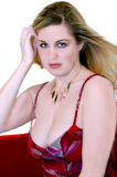 Vrij Blond stock foto
