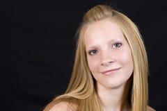 Vrij blond meisje Royalty-vrije Stock Afbeeldingen