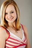 Vrij blonde tiener Royalty-vrije Stock Afbeeldingen