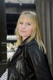 Vrij blonde vrouw Royalty-vrije Stock Fotografie