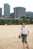 Vrij Chinees meisje stock afbeelding