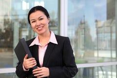 Vrij Chinese BedrijfsVrouw royalty-vrije stock foto