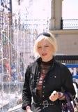 Vrij dertig-jaar-oude vrouw Royalty-vrije Stock Fotografie