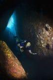 Vrij duiken in Thailand Stock Afbeelding