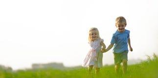 Vrij en gelukkig royalty-vrije stock fotografie
