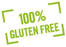 100% Vrij Gluten Royalty-vrije Stock Foto