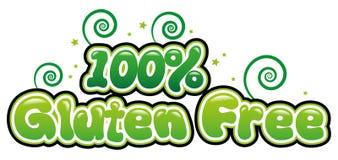 100% Vrij Gluten Stock Afbeeldingen