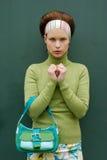 Vrij in Groen Royalty-vrije Stock Foto's