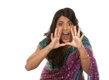 Indische vrouw Stock Fotografie