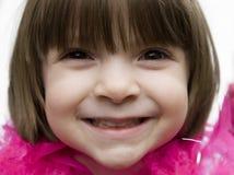 Vrij jong kind het glimlachen royalty-vrije stock foto's