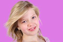 Vrij jong meisje Royalty-vrije Stock Foto