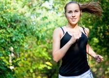 Gelukkige Jogger Stock Foto's