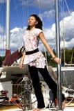 Vrij jonge brunette Royalty-vrije Stock Afbeeldingen