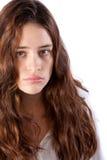 Vrij jonge vrouw stock foto