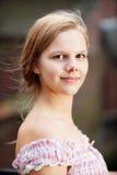 Vrij jonge vrouw royalty-vrije stock foto's