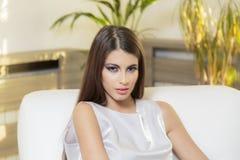 Vrij jonge vrouw royalty-vrije stock fotografie