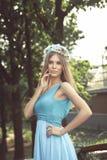 Vrij jonge vrouw Royalty-vrije Stock Afbeelding