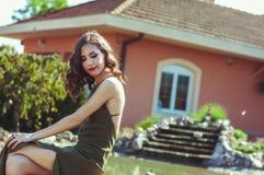 Vrij jonge vrouw Royalty-vrije Stock Foto