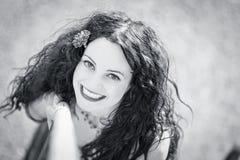 Vrij jonge vrouw Stock Afbeeldingen