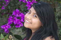 Vrij Latijns Meisje Stock Fotografie