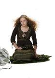 Vrij op de wind Royalty-vrije Stock Fotografie
