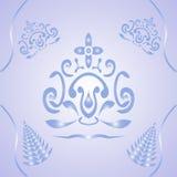Vrij patroon Royalty-vrije Stock Foto