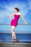 Vrij in roze Royalty-vrije Stock Foto