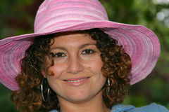 Vrij Tunesisch meisje stock afbeelding
