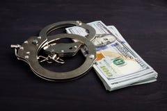 Vrij van Schuld Dollars voor borgtochtbanden royalty-vrije stock fotografie