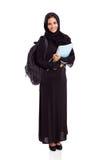 Arabische universitaire student Royalty-vrije Stock Foto's