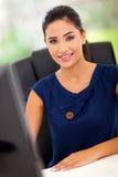 Vrouwelijke beambte Royalty-vrije Stock Afbeeldingen