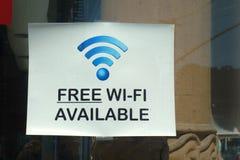Vrij wi-FI Stock Foto's