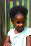 Vrij Zwart Meisje Royalty-vrije Stock Foto's