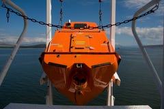 Vrije dalingsreddingsboot Royalty-vrije Stock Fotografie