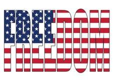 Vrije de Verenigde Staten van Amerika Royalty-vrije Stock Afbeeldingen